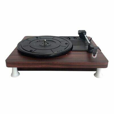 Platine Vinyle au design Retro Vintage MDY-1305-1