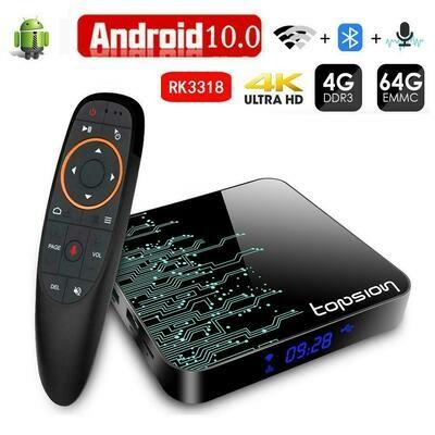 Box TV Android 10.0 - Nouvelle Génération | Compatibilité garantie EU