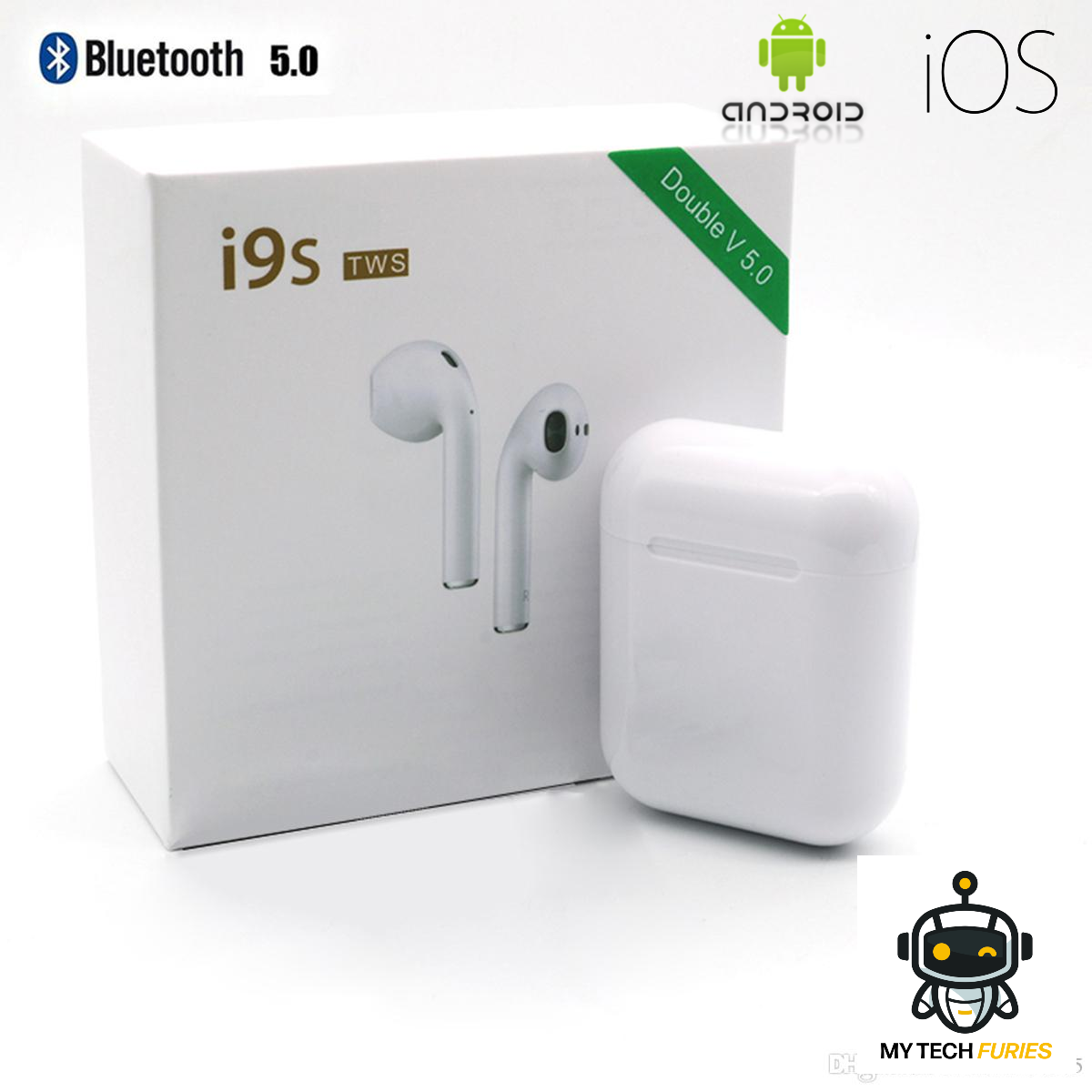 Écouteurs Sans fil iOS / Android Bluetooth i9s TWS