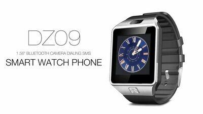 SmartwatchDZ09 Montre Intelligente Tactile avec Caméra et fonction Appel