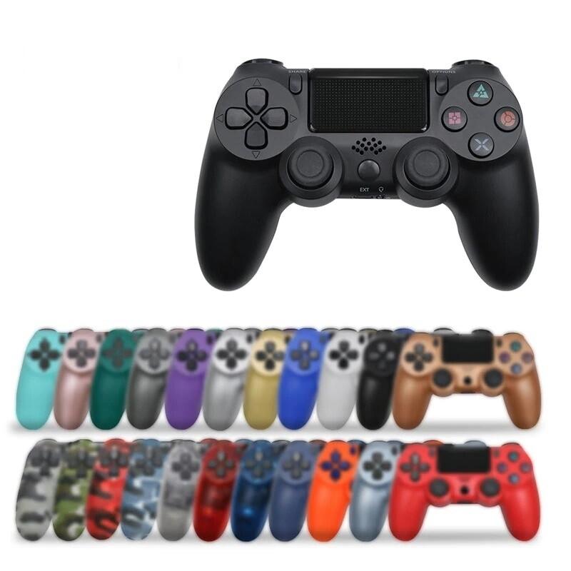 Manette de jeu pour PlayStation 4 (PS4) - Bluetooth - Vibreur (20 Coloris au choix)