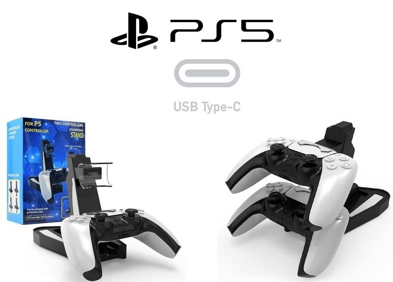 Station de recharge DualSense | Double dockstation PS5 (2 manettes)