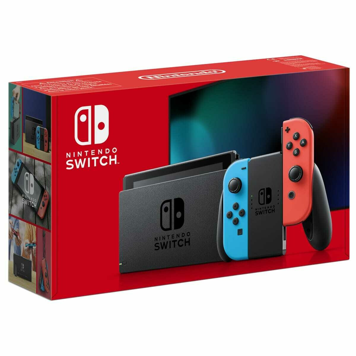 Console Nintendo Switch Bleue / Rouge