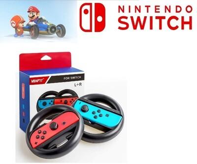 Paire de Volants Directionnels pour Joycon Nintendo Switch