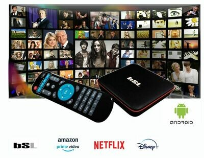 Box TV Android BSL 16GB