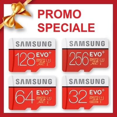 Carte mémoire micro SD Samsung EVO Plus | capacité de 32, 64, 128, 256Go
