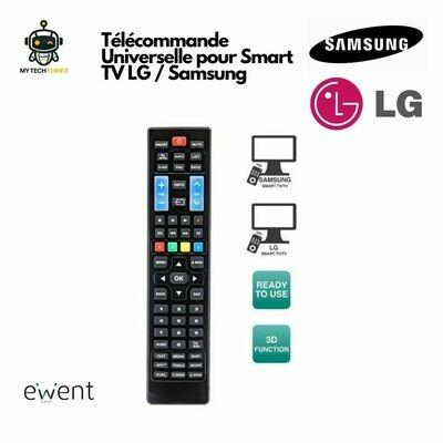 Télécommande Universelle EWENT EW1575 compatible LG et SAMSUNG