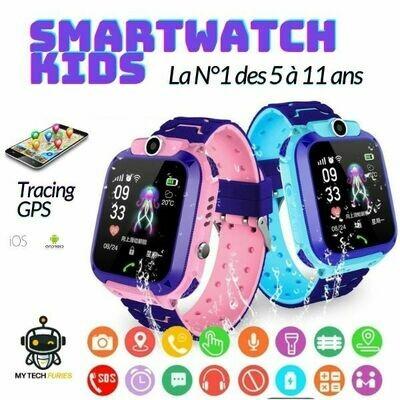 Smartwatch / Montre Connectée KIDS pour Enfants avec tracing GPS (iOS/Android)