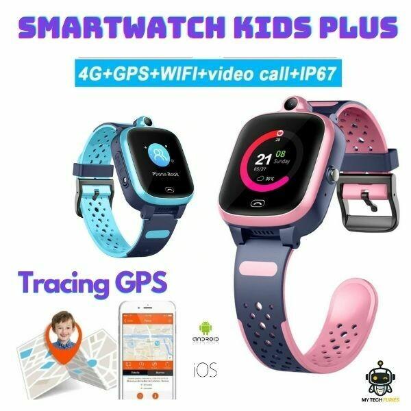 Smartwatch KIDS Plus - Montre Enfant GPS (4G)