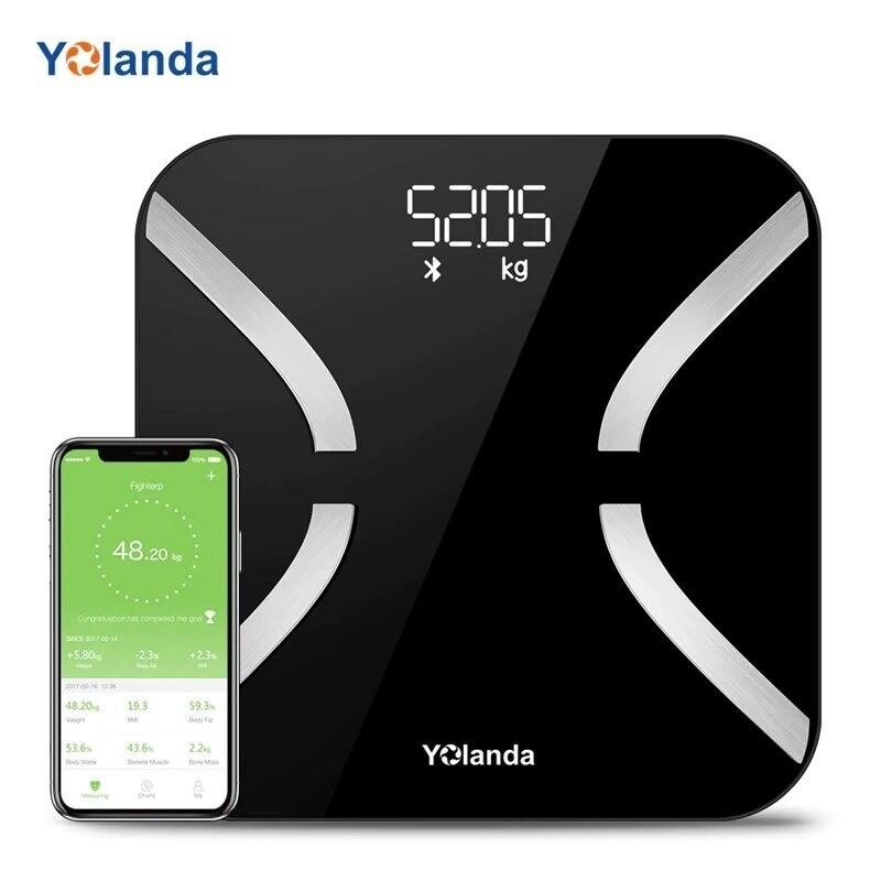 Pèse-Personne | Balance Connectée Intelligente par Impedancemetre Yolanda