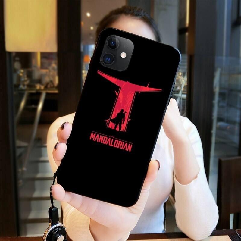 Coque de protection iPhone The Mandalorian - silicone TPU (5 visuels différents)