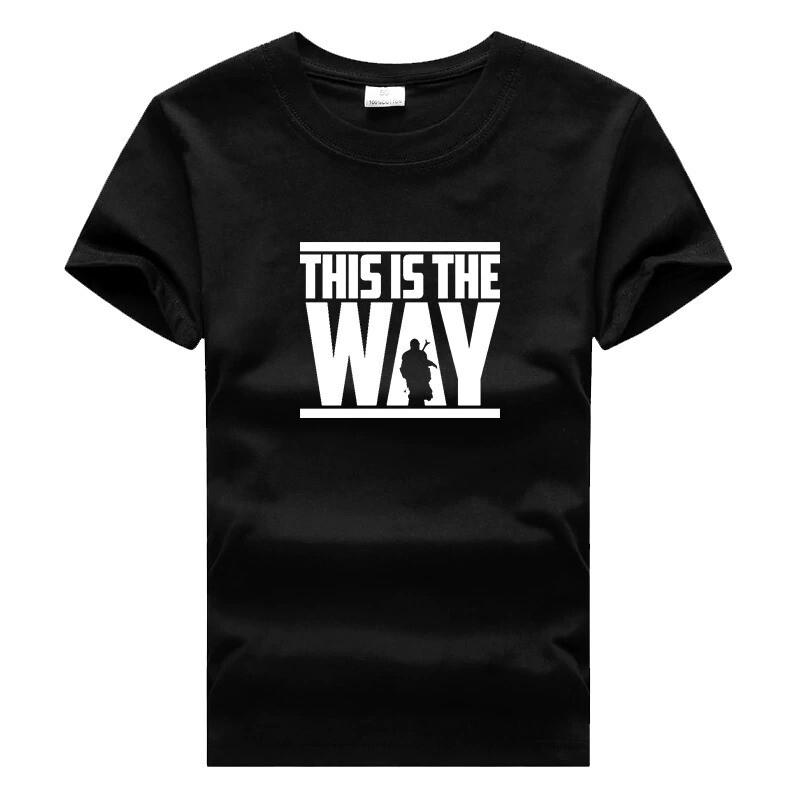 T-Shirt The Mandalorian Enfant - This is the way (2 modèles)