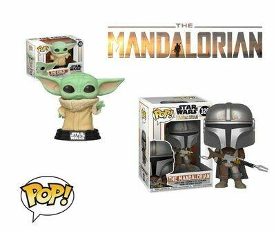 Figurine POP! The Mandalorian - Mando et Baby Yoda