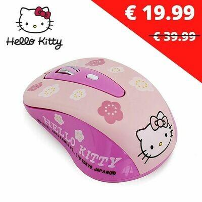 Souris Hello Kitty sans fil Enfant PC et Mac OS