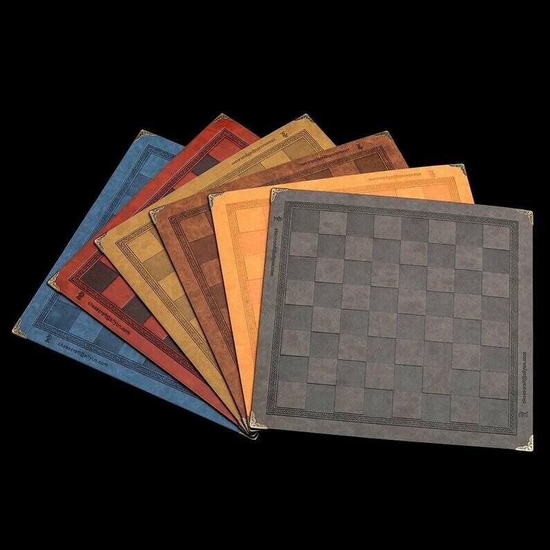 Echiquier souple pliable (4 couleurs au choix)