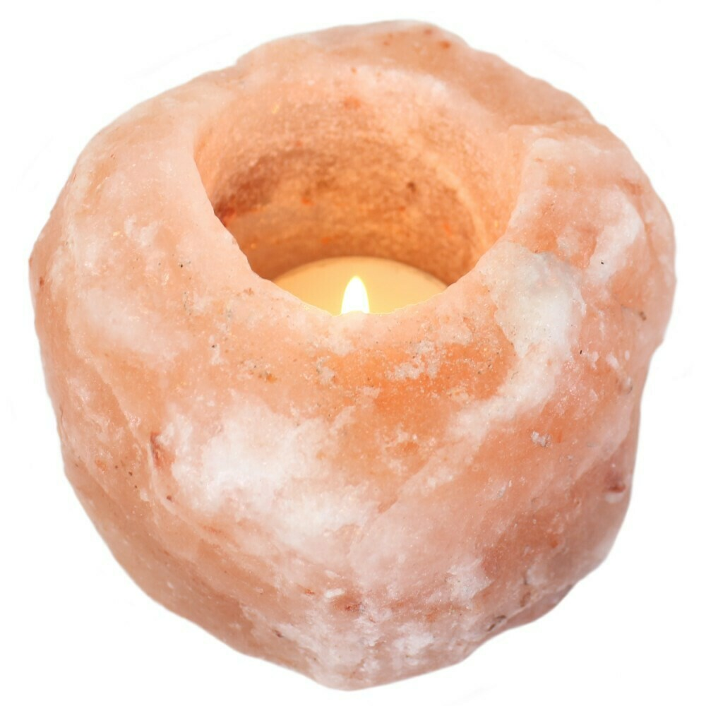 Tealight holder -  Himalayan Salt