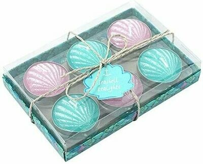 Seashell Tealights (Set of 6)