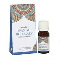 Fragrance Oil Spanish Rosemary 10ml by Goloka
