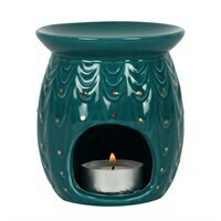 Oil Burner by Essential Peacock Design with Free Gift