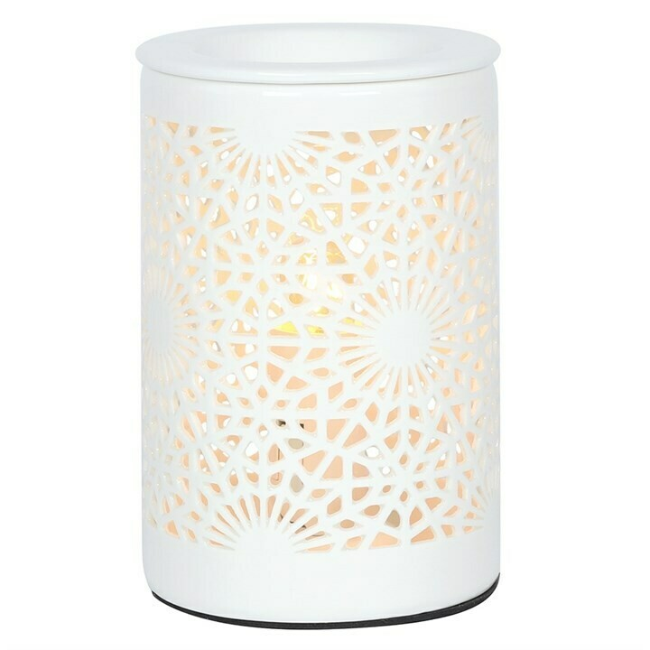 Oil Burner Electric (Lace Cut Out Design)