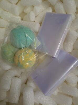 3 Mini Ball Bath Bombs and 2 Solid Shampoo's, (Lavender Essential Oil Scented) pack