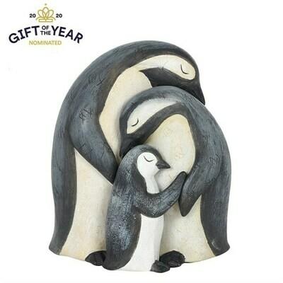 Ornament Penguin Family
