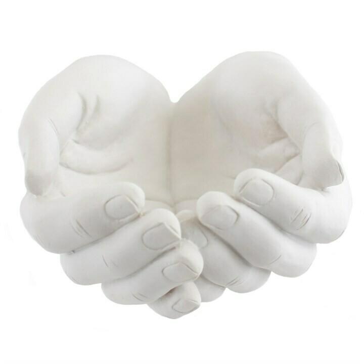 Ornamental Dish Healing Hands