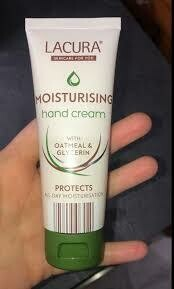 Lacura Moisturising Hand Cream with Oatmeal and Glycerin 75ml