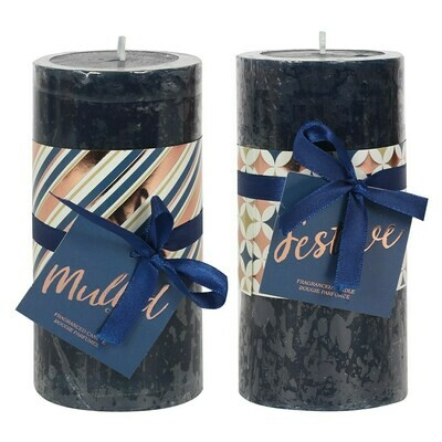 Scented Candles Festive Spice And Mulled Cider
