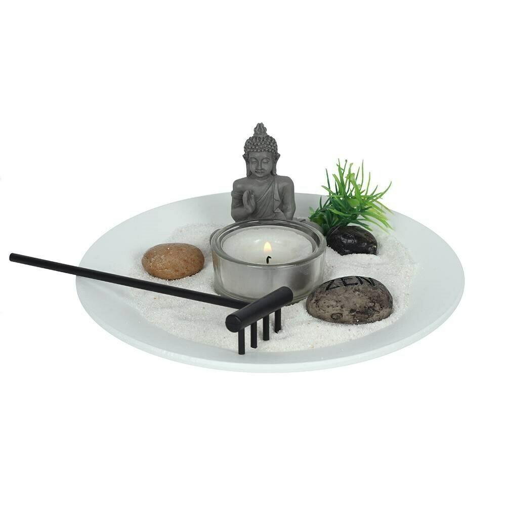 Mini Buddha Zen Garden Kit