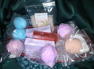 Bathroom Accessories and Toiletries Set