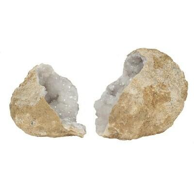 Crystal Quartz Geodes