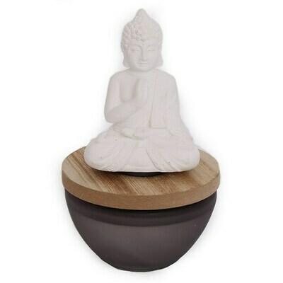 Buddha White Tea & Bamboo 100ml Diffuser Ornament Home Gift