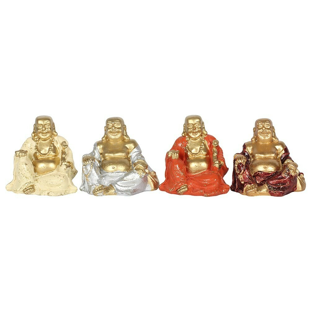 Lucky Mini Gold Buddha Ornament