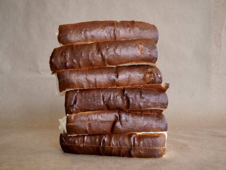 Pains hot-dog (6 unités)