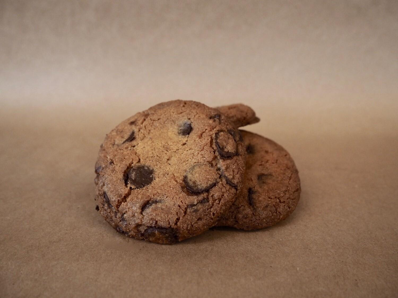 Biscuit aux brisures de chocolat