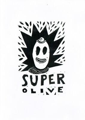 Superolive - das Comic zur Ausstellung von Gabi Garland, Berlin 2017