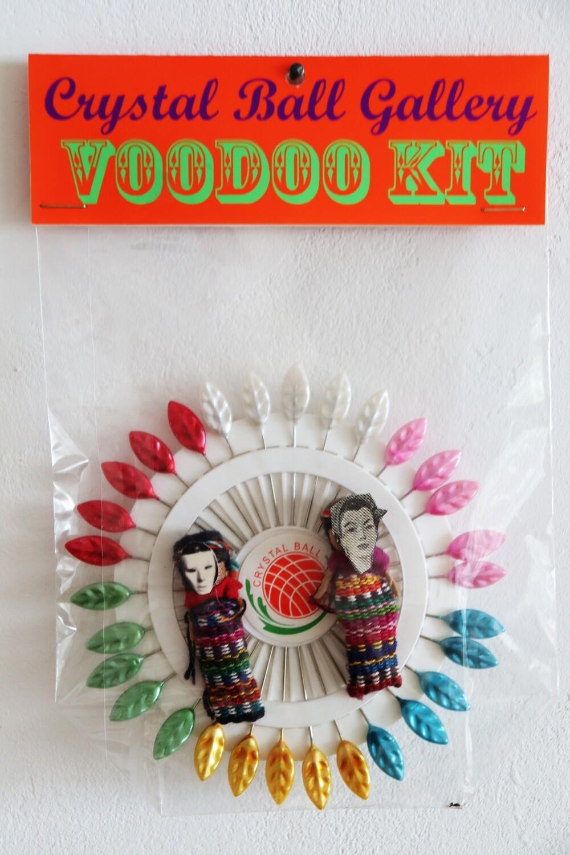 Crystal Ball Vodoo Kit - Auflage 12, das legendäre Vodoo Kit für Künstler (fast vergriffen)