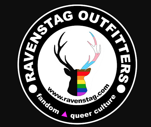 RavenStag Outfitters Logo Sticker