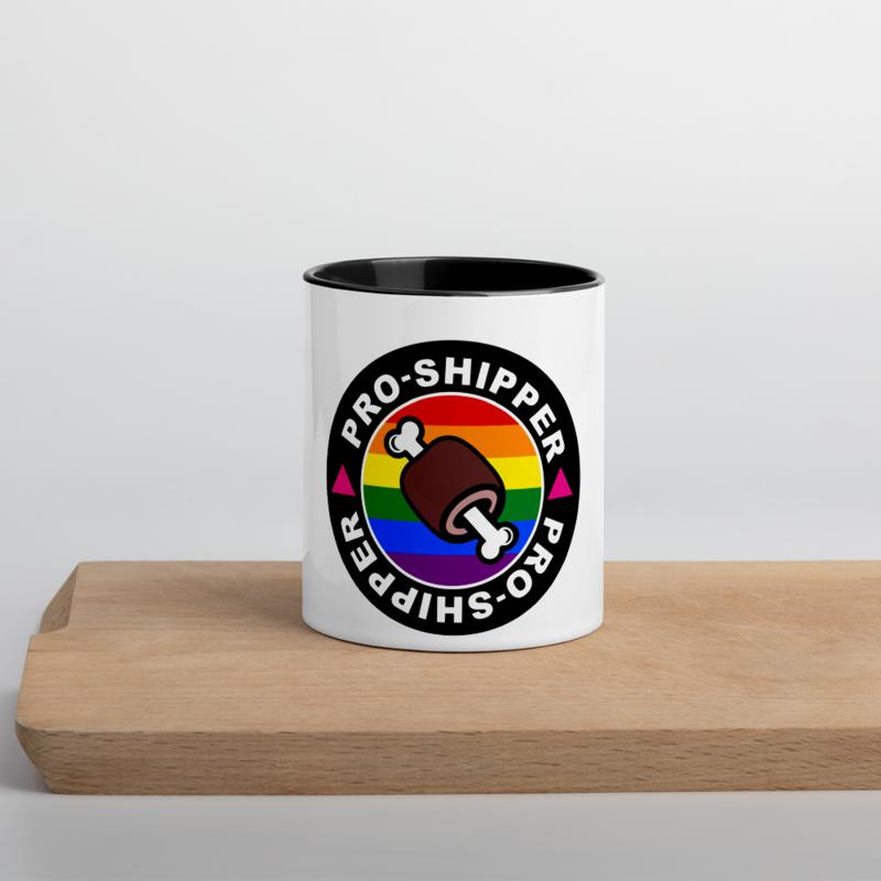 Pro-Shipper Mug with Color Inside