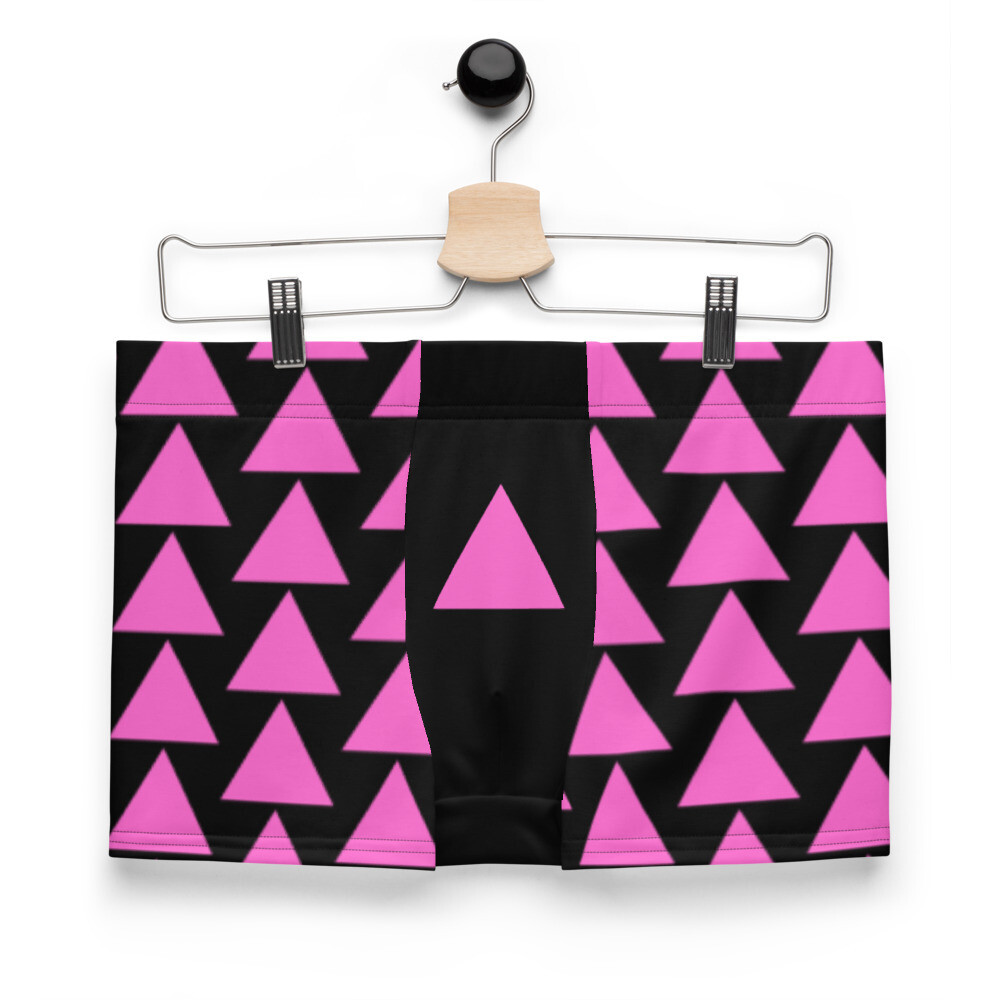 Very Queer Pink Triangle Boxer Briefs