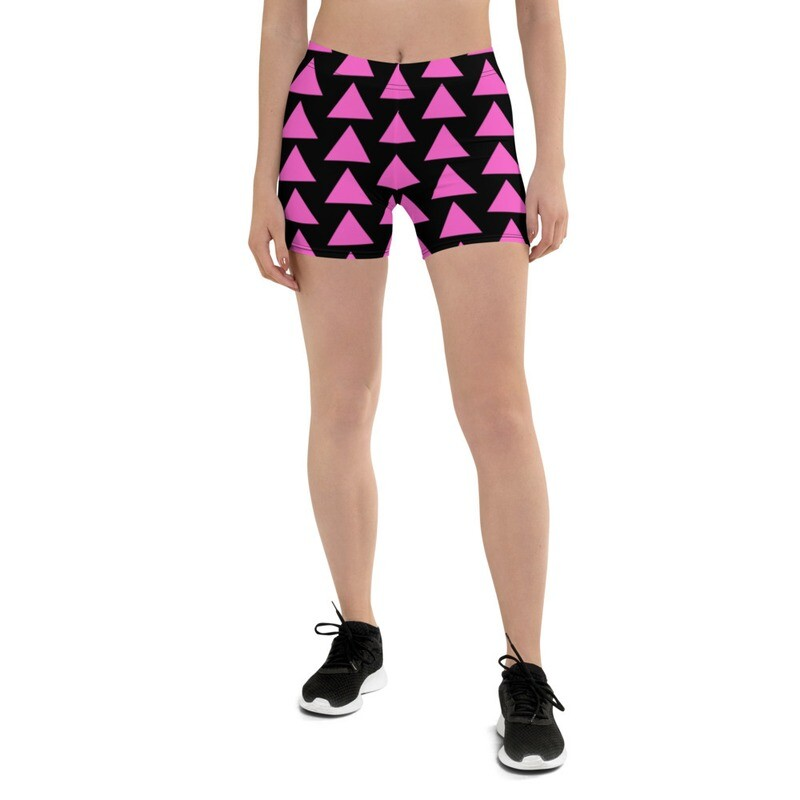 Very Queer Pink Triangle Shorts