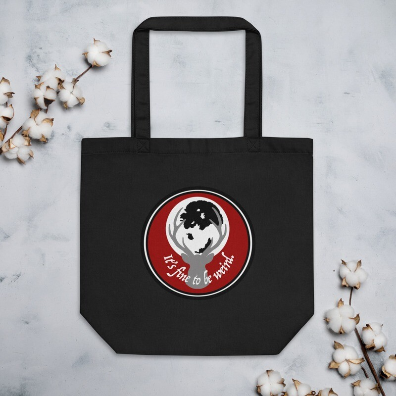 It's Fine To Be Weird Hannibal Eco Tote Bag