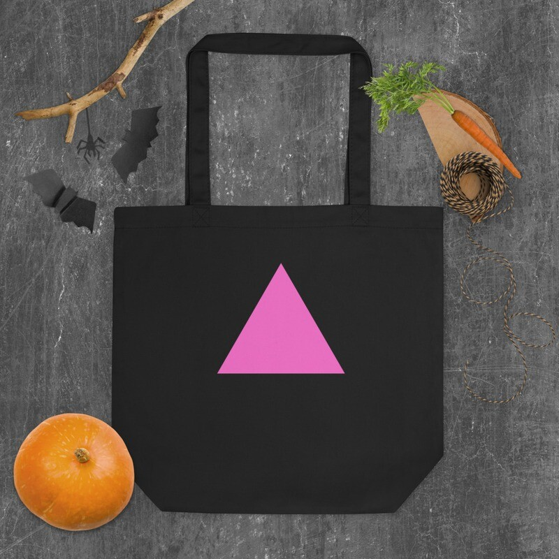 Very Queer Pink Triangle Eco Tote Bag