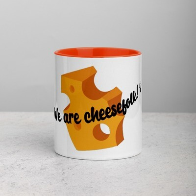 We are Cheesefolk! Franklyn Froideveaux Memorial Coffee Mug