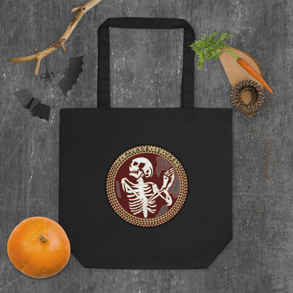 The Norman Chapel Skeleton Hannibal Mind Palace Eco Tote Bag
