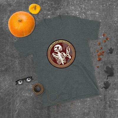 The Norman Chapel Skeleton Hannibal Mind Palace Short-Sleeve Unisex T-Shirt