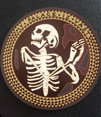 The Norman Chapel Skeleton Hannibal Mind Palace Magnet