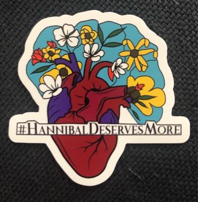 #HannibalDeservesMore Magnet