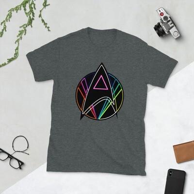 Pink Triangle Queer Star Trek Short-Sleeve Unisex T-Shirt